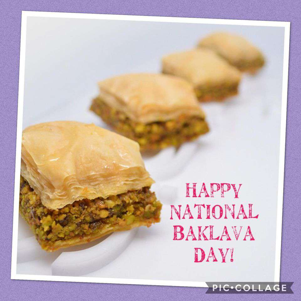 National Baklava Day Wishes Awesome Images, Pictures, Photos, Wallpapers