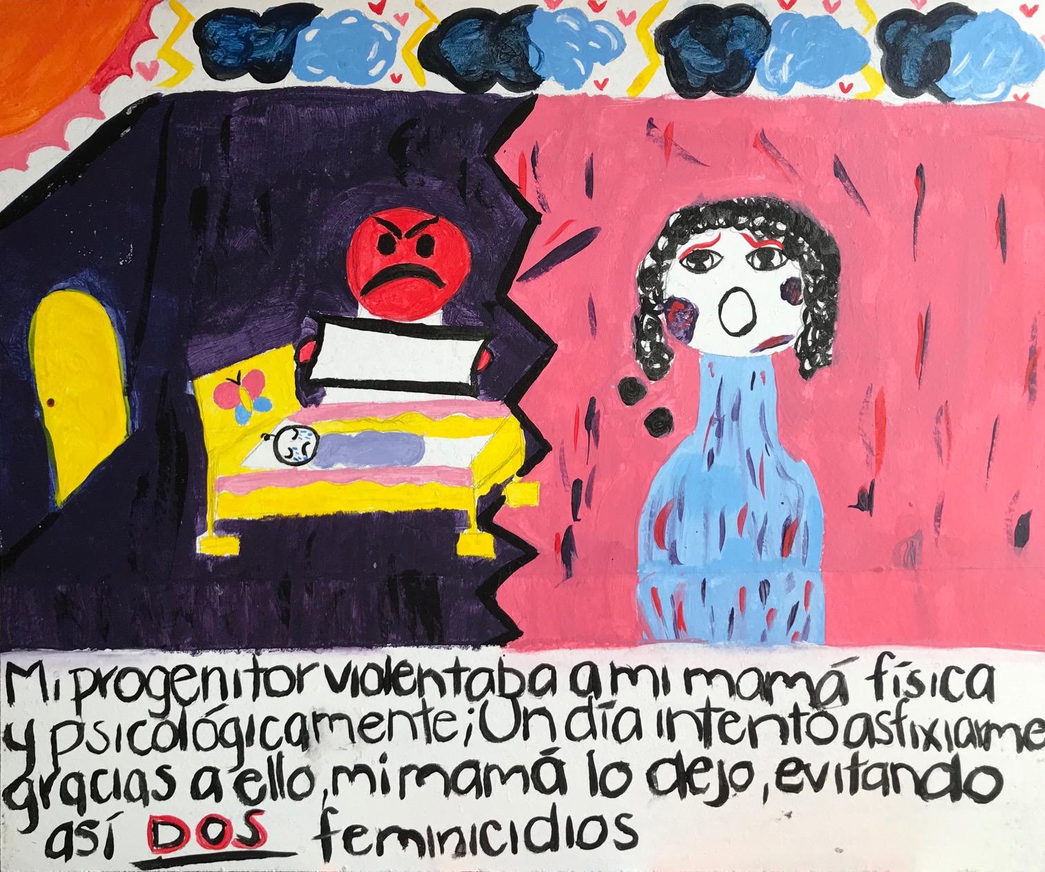 Mi progenitor violentaba a mi mamá física y psicológicamente...