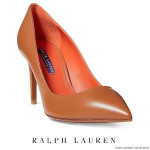 Crown Princess Victoria wore Ralph Lauren Calfskin Armissa Pumps