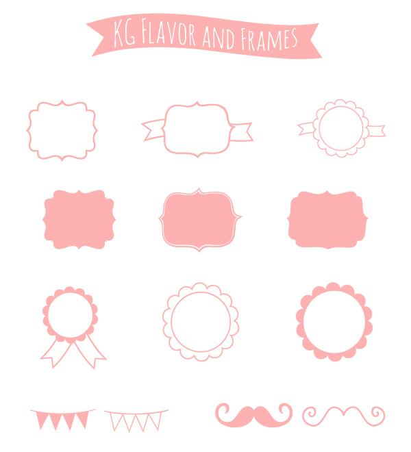 Etiquetas en Color Rosa para Imprimir Gratis.   Oh My Primera Comunión!