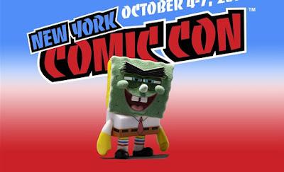 "New York Comic Con 2018 Exclusive Many Faces of SpongeBob ""Abrasive Sponge"" Mini Vinyl Figure by Kidrobot"