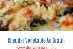 Cheddar Vegetable Au Gratin