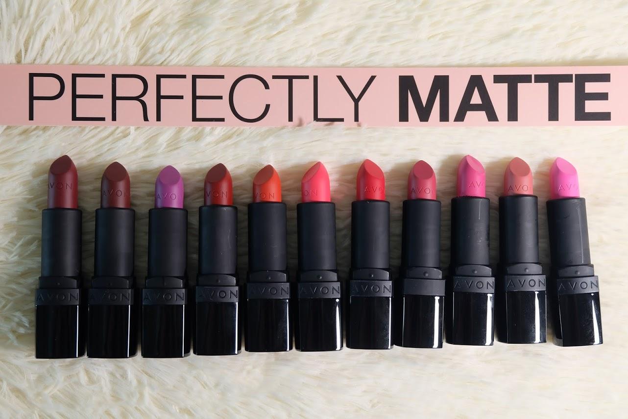 Perfectly Matte Avon Lipstick