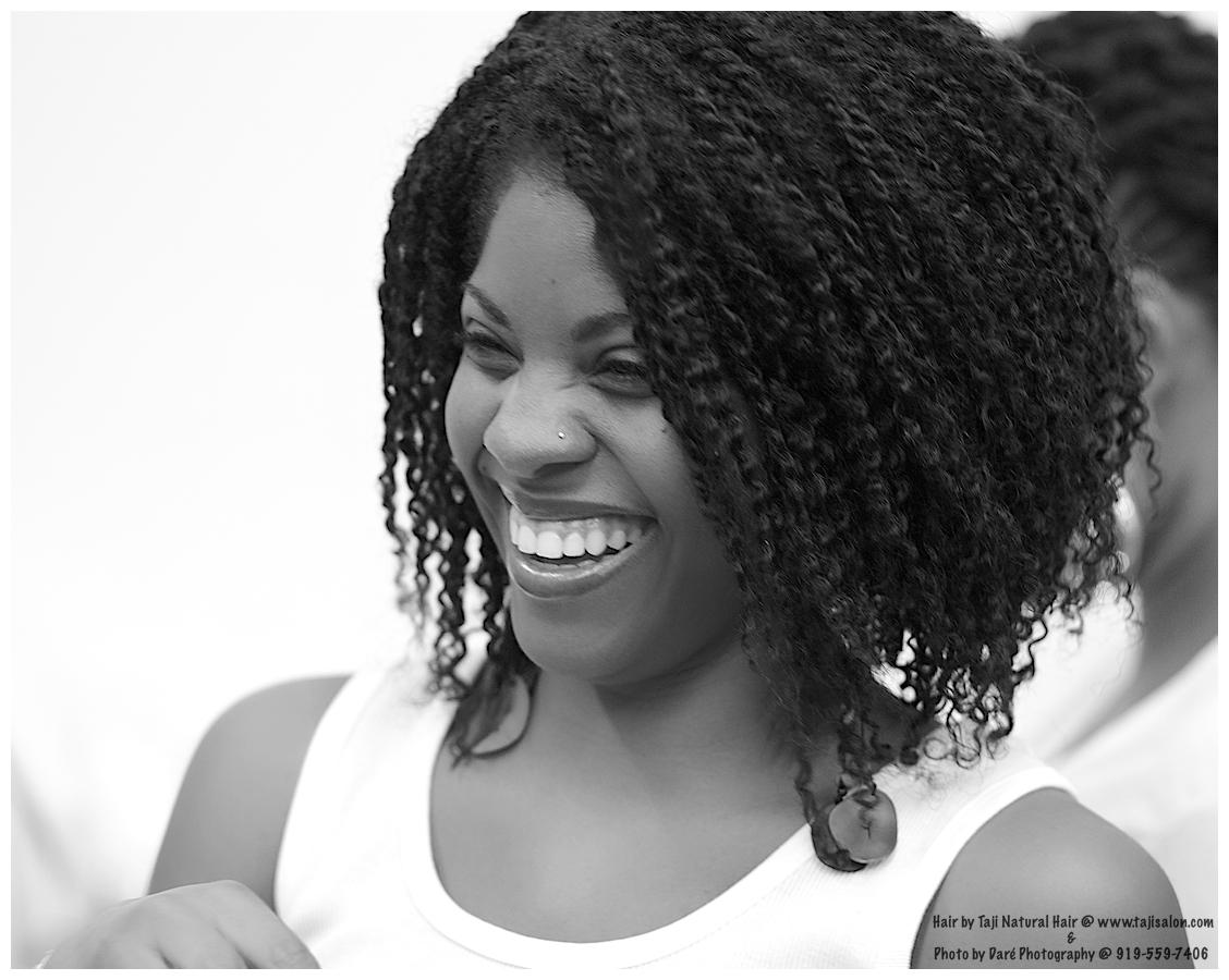 Taji Natural Hair Styling: Transitioning To Natural Series