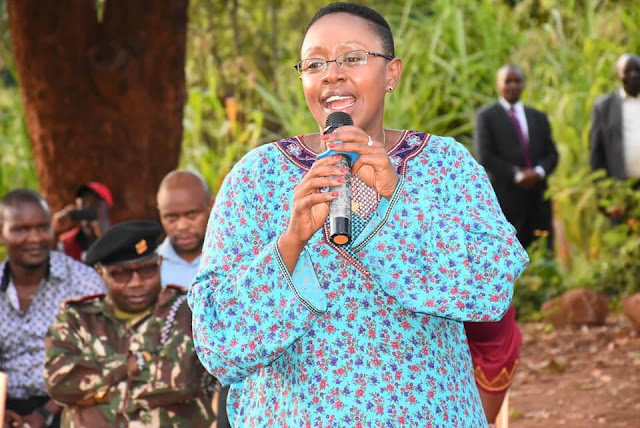 Murang,a Women rep Sabina Chege deliberates county state projects. PHOTO | BMS