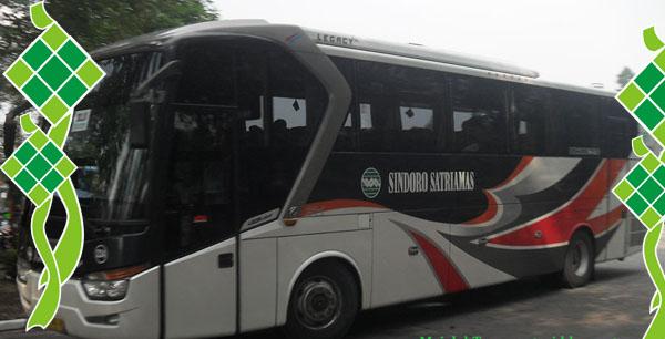 Harga Tiket Mudik Lebaran 2017 Bus Sindoro Satriamas