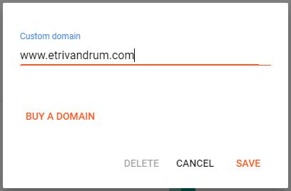 How to add custom domain to blogger in 2021 (Godaddy)?