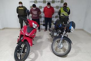 hoyennoticia.com, Detenidos por robarse dos motos en La Jagua de Ibirico