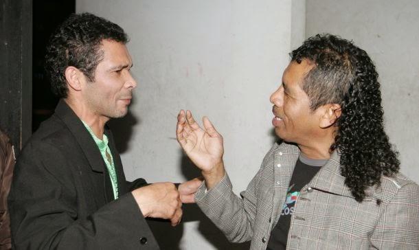 Kike suero y Cachay en Arequipa - 21 de noviembre