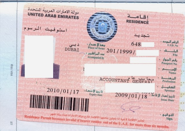 Steps to get back to UAE for Residence Visa holders