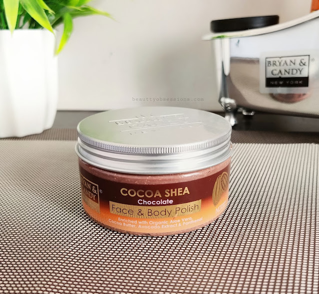 Bryan and Candy New York's Cocoa and Shea face and body polish