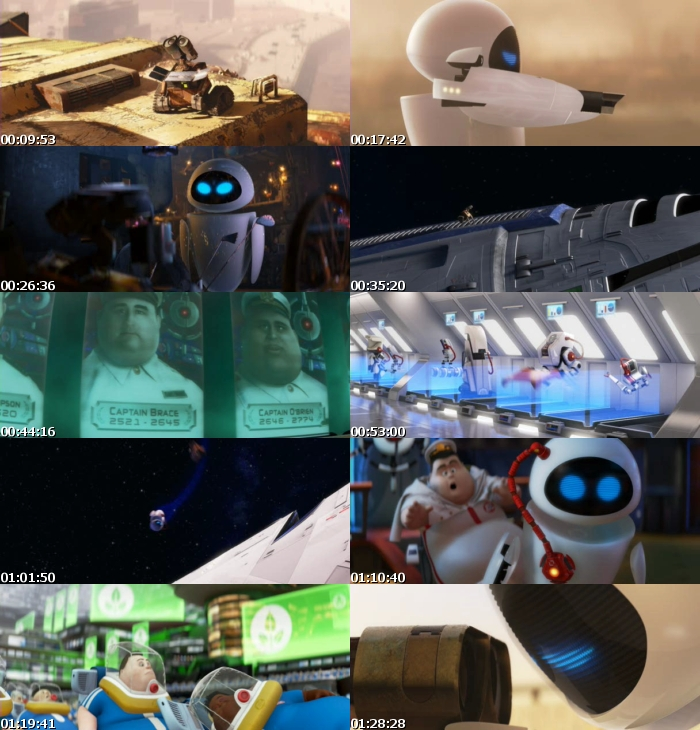 Wall-E (2008) [DVDRip] [Latino]