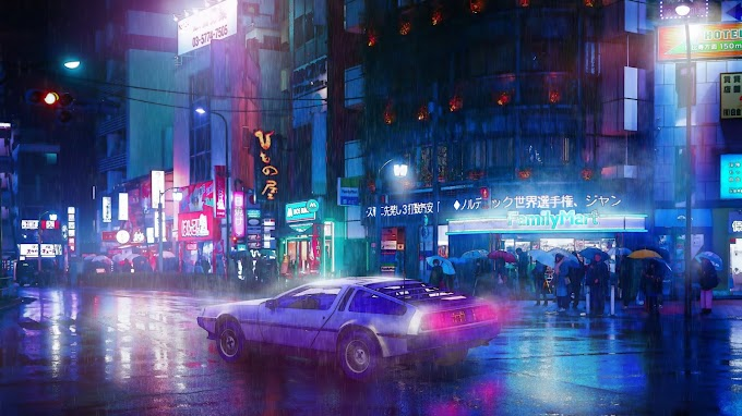 DeLorean DMC-12 Cyberpunk