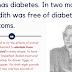 Em 1796 o Capitão Meredith é curado de diabetes com a dieta carnívora.
