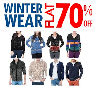[Hurry!!] Flat 70% OFF on Guys / Girls Winter Wear Collection @ Inkfruit