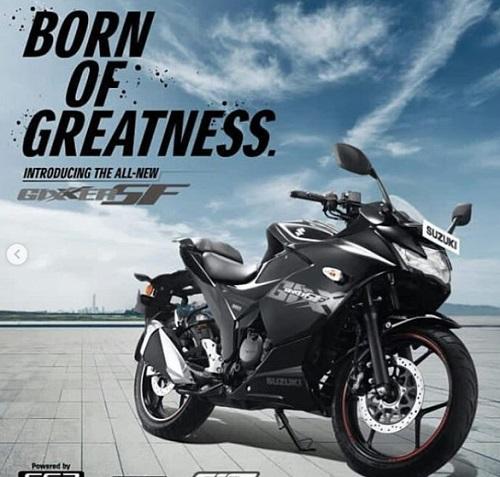 harga Desain Suzuki Gixxer SF 250 Black