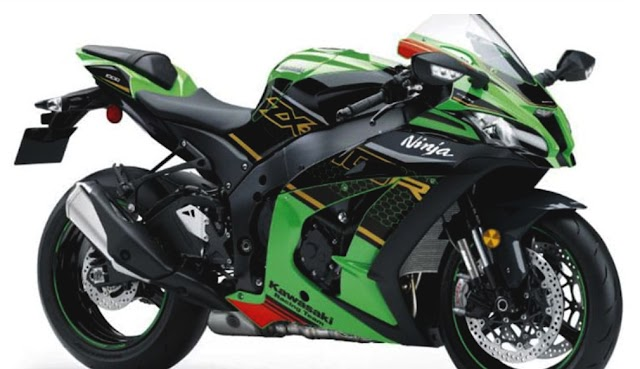 Kawasaki ZX-10R now come with new element.