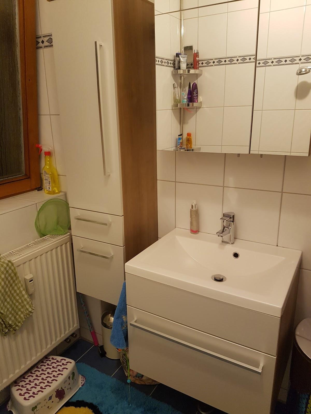 unser neuer Doppelwaschtisch, pimp my old Badezimmergarnitur und ...