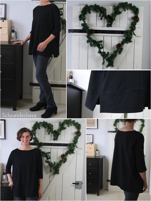 Mandy Boat Tee Oversize Shirt DIY Pattern
