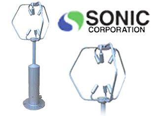 Sonic SAT-600 Ultrasonic Anemometer 3-D