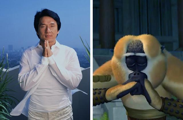 Jackie Chan - Master Monkey - Kung Fu Panda
