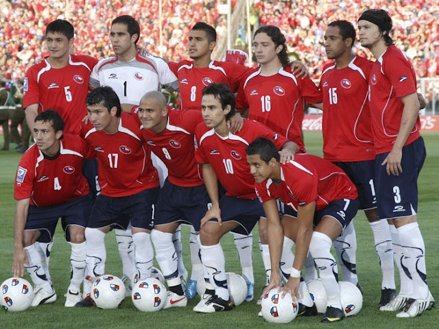 Formación de Chile ante Ecuador, Clasificatorias Sudáfrica 2010, 14 de octubre de 2009