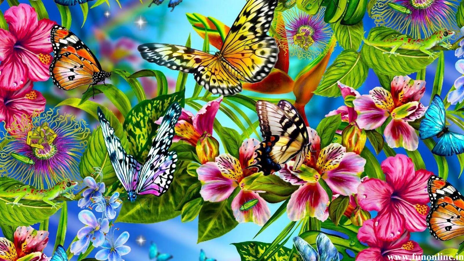 3D Butterflies.  3D Butterflies....
