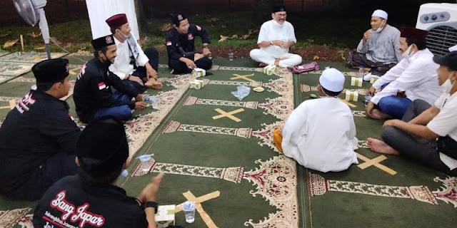 Kunjungi Tenda Masjid At Tabayyun, Bang Japar: Kalau Semua Prosedur Sudah Dilalui, Tak Ada Yang Bisa Halangi