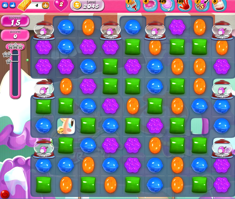 Candy Crush Saga 2045