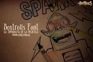 Free Boxtrolls Font