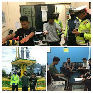 Aksi Coret Berujung Di Kepolisian, 11 Siswa Diamankan
