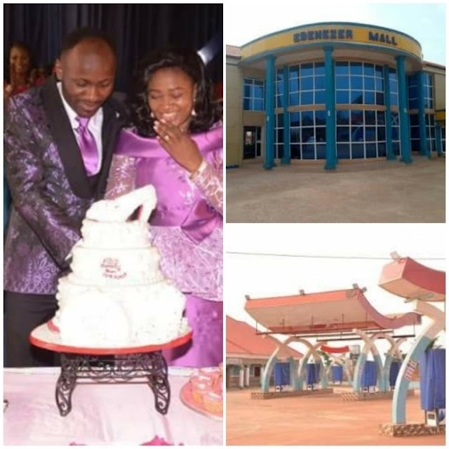 Apostle Suleman Gifts Wife Shopping Mall, Petrol Station, Transport Company (SEE PHOTOS)
