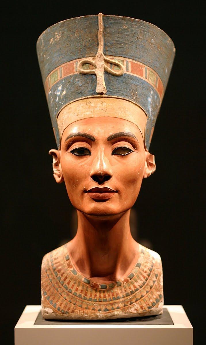 my tribe  bust of nefertiti