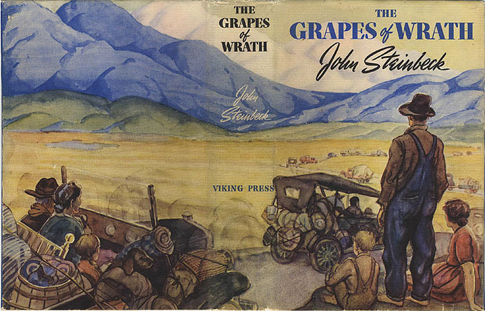 a view on the novel the grapes of wrath by john steinbeck The grapes of wrathbyjohn steinbeck the grapes of wrath was not the first novel that john steinbeck wrote the grapes of wrath first view of california's.
