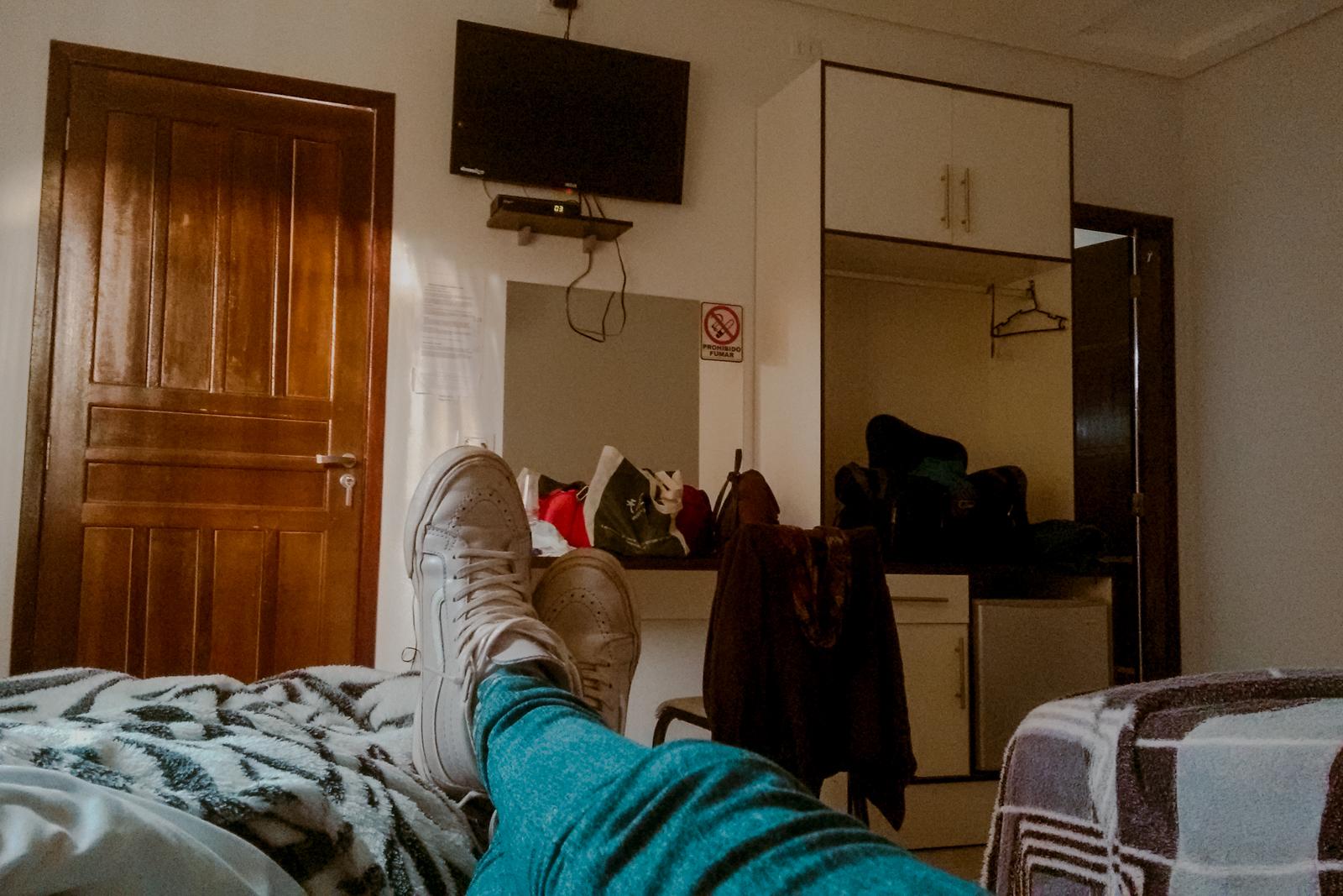 descansando quarto pousada