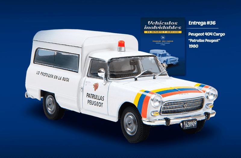 peugeot 404 cargo 1980 patrullas peugeot