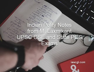 Indian Polity Handwritten Notes pdf in english From M Laxmikant