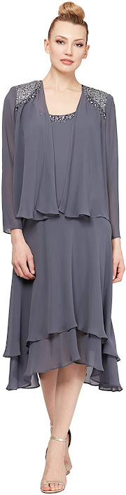 Gorgeous Grey Mother of The Bride Dresses
