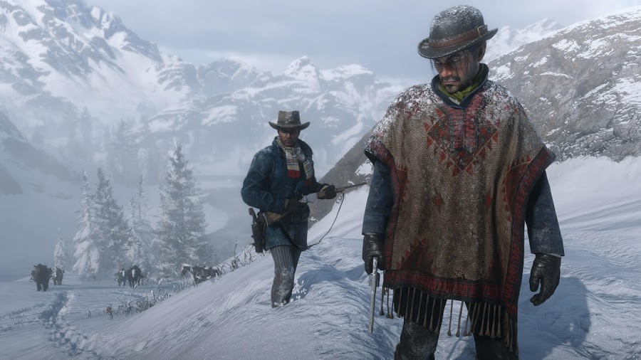 red dead redemption 2 pc snow trails hdr support 4k resolution rockstar games november 5