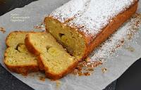 Κέικ μπανάνας με γλυκιά μυζήθρα (νωπό ανθότυρο) - by https://syntages-faghtwn.blogspot.gr