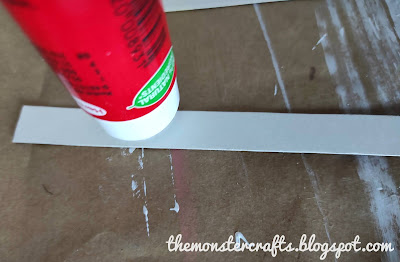 Using a glue stick