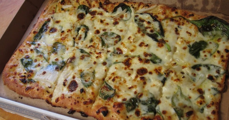 Review Domino S Spinach Feta Artisan Pizza Brand Eating