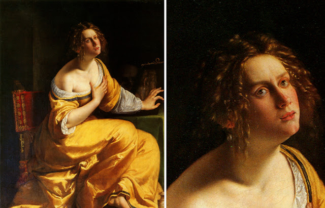 "Artemisia Gentileschi ""O Penitente Maria Madalena"", 1615-1616"