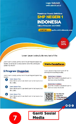 Download Kumpulan Brosur Sekolah Menengah Pertama SMP Microsoft Word Gratis