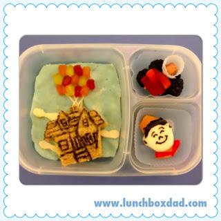 Pixar Up kids easy lunch