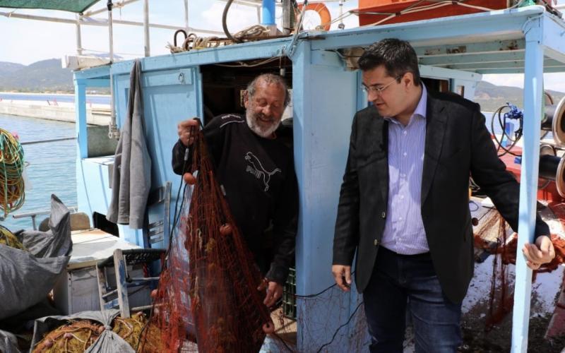 Επίσκεψη του Απόστολου Τζιτζικώστα σε περιοχές του Δήμου Σιθωνίας