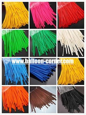 Balon Pentil / Balon Twisting Kualiatas SUPER GRADE 'A' (Satu Warna)