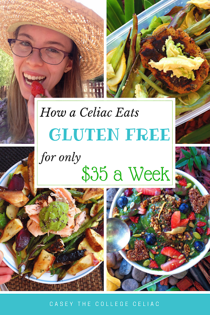 How A Celiac Eats a Healthy Gluten Free Diet for Only $35 a Week