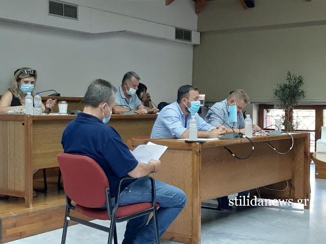 Συνεδρίασε το Δημοτικό Συμβούλιο Στυλίδας