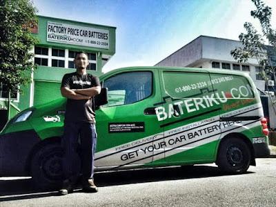 Bateri Kereta Kong Di Bangi, Mujur Ada BATERI.COM